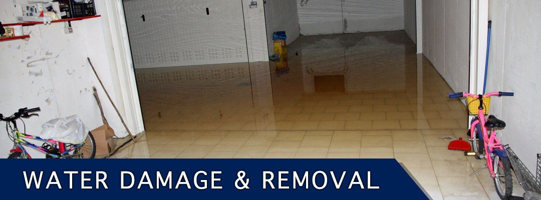 water damage and removal for home after flooding